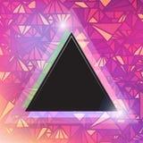 Triangular space design. Stock Images