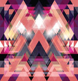 Triangular space design. Royalty Free Stock Photo
