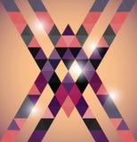 Triangular space design. Stock Photos