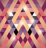 Triangular space design. Royalty Free Stock Image