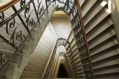 Triangular Staircase Stock Image