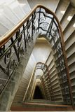Triangular Staircase Stock Photography