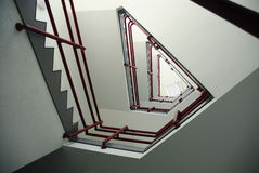 Triangular Staircase Royalty Free Stock Photo