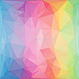 Triangular art style abstract background Royalty Free Stock Photography