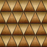 Triangular style - Abstract decorative panels - Imaginary design Stock Photo
