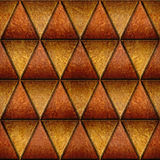 Triangular style - Abstract decorative panels - Imaginary design Royalty Free Stock Images