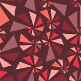 Triangular torsion seamless pattern Stock Photography