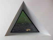 Triangular window Royalty Free Stock Photography