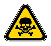 Triangular Warning Hazard Symbol Royalty Free Stock Image