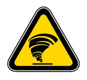 Triangular Warning Hazard Symbol Royalty Free Stock Photo