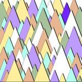 Triangulars bedrijfsbrochure royalty-vrije illustratie
