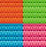 Triangulars set Royalty Free Stock Photography