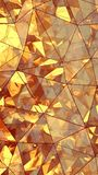 Triangulated multilayered glass construction abstract 3D renderi. Triangulated multilayered glass construction. Futuristic polygonal surface. Abstract trendy Stock Photos