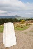 Triangulation Point. A Triangulation Point post on Beacon Fell, Lancashire, England royalty free stock photo