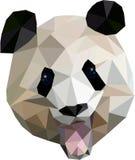 Triangulations-Panda Stockbild