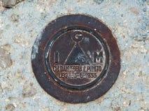 Triangulationsstation lizenzfreie stockfotografie