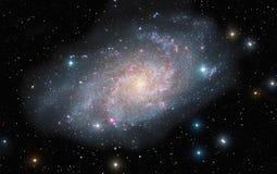 The Triangulum Galaxy royalty free stock photography