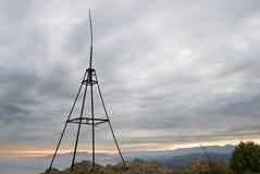 Triangulyar geodetico immagine stock libera da diritti
