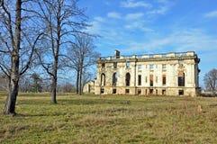 Trianon castel ruins. In filipestii de padure near bucharest Royalty Free Stock Photo