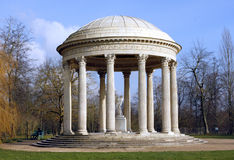 The Trianon Garden - Versailles. The garden of the Petit Trianon in the park of the Palace of Versailles near Paris in France composed by Richard Mique for Marie Stock Photos
