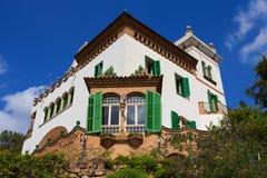 Trias του Antonio Gaudi ` s Casa Στοκ φωτογραφία με δικαίωμα ελεύθερης χρήσης