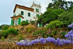 Trias dom w Barcelona obraz royalty free