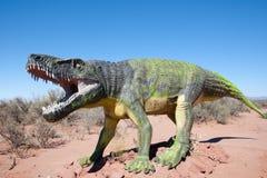 Triassic Fasolasuchus Dinosaur Replica - Argentina Royalty Free Stock Photo