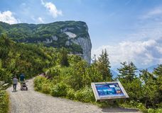 Triassic Park on Steinplatte, Austria Stock Image