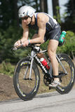 Triathlete David Kahn Royalty Free Stock Photos