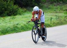 Triathlete Ivan Albano von Brasilien Stockfotografie