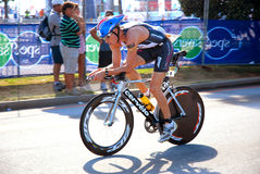 Triathlete James Cunnama Stock Image
