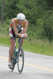 Triathlete Justin Henkel Stock Images