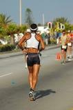 Triathlete mâle Photographie stock libre de droits