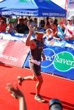Triathlete Raynard Tissink royalty free stock image