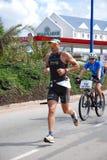 Triathlete Raynard Tissink stock image
