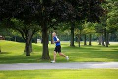 Triathlete Running Royalty Free Stock Photography