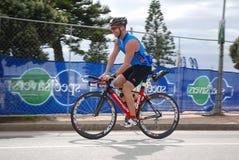 Triathlete Russel Meyer stock photo