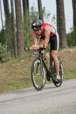 Triathlete Tuukka Miettine Stock Photo