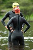 Triathletes Stock Photos