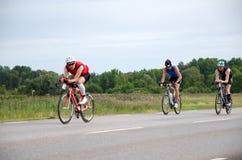 Triathletes em Ironman Sweden 2012 Fotos de Stock Royalty Free