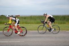 Triathletes en Ironman Suecia 2012 Imagenes de archivo