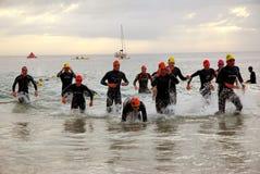 Triathlon África do Sul 2008 de Ironman foto de stock royalty free