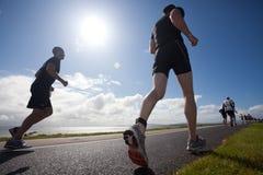 triathlon бегунков Стоковое Изображение