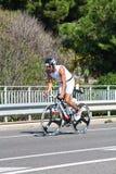 triathlon спортсмена Стоковые Изображения RF