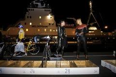 Triathlon Foto de archivo libre de regalías