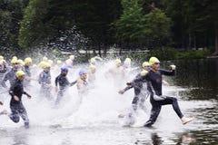 Triathlon Imagenes de archivo