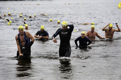 Triathlon Photos stock