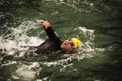 Triathlon stockfotografie