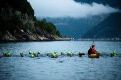 triathlon Royaltyfria Foton