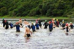 triathlon Стоковое Изображение RF
